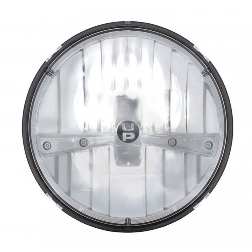United Pacific 31391 7 Quot Round Chrome Led Reflector