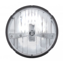 "United Pacific 31391 7"" Round Chrome LED Reflector Headlight"