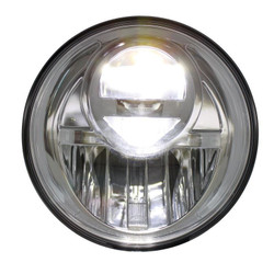 "United Pacific 31300 Chrome 7"" Round Projection Style LED Headlight"