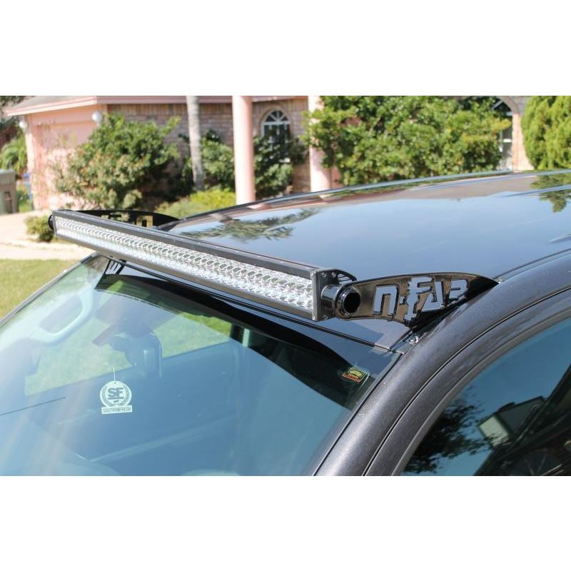 Led light bar mounting solutions n fab 2014 2017 toyota tundra roof mounted led light bar brackets aloadofball Images