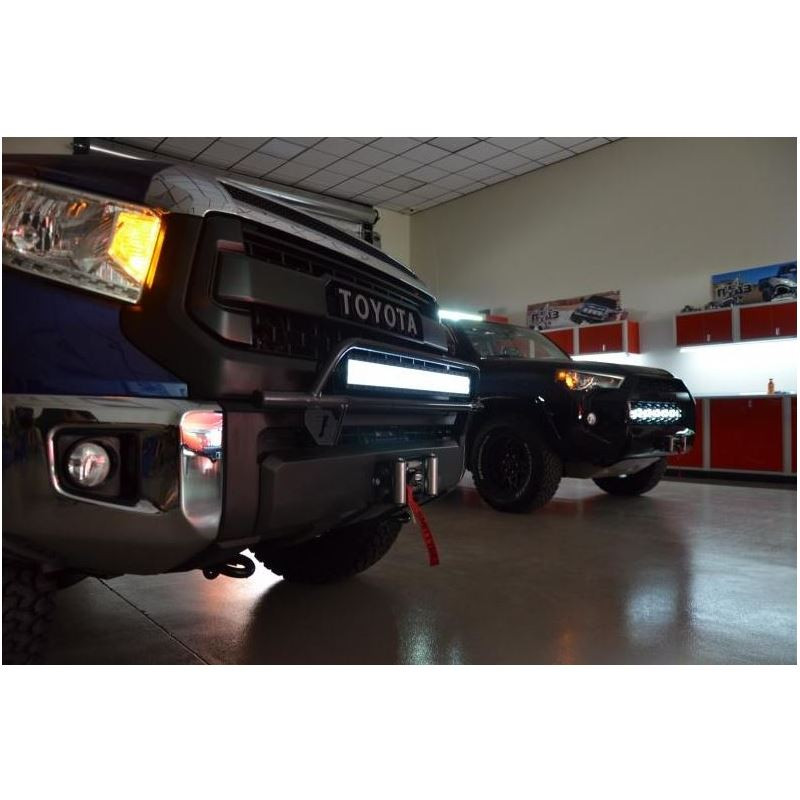 N fab 2007 2013 toyota tundra off road front bumper light bar n fab aloadofball Image collections