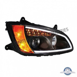 "United Pacific 31464 ""Blackout"" Kenworth T660 Projection Headlight - Passenger Side"