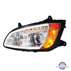 United Pacific 31517 Chrome Kenworth T660 Projection Headlight - Driver Side