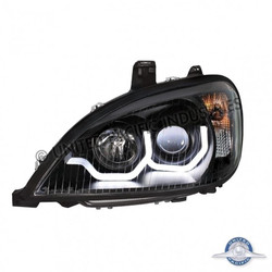 "United Pacific 31254 ""Blackout"" Freightliner Columbia Projection Headlight - Driver Side"