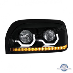 United Pacific 31205 Black Freightliner Century Projection Headlight - Driver Side