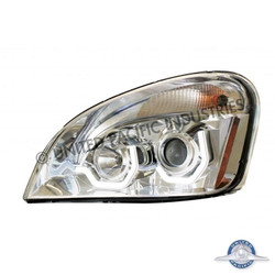 United Pacific 31286 Chrome Freightliner Cascadia Projection Headlight - Driver Side