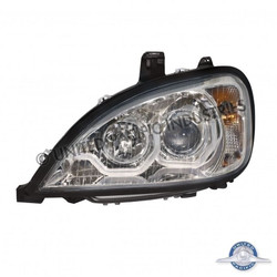 United Pacific 31256 Chrome Freightliner Columbia Projection Headlight - Driver Side