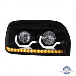 United Pacific 31206 Black Freightliner Century Projection Headlight - Passenger Side