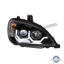"United Pacific 31255 ""Blackout"" Freightliner Columbia Projection Headlight - Passenger Side"