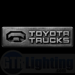 GTR Lighting LED Logo Projectors, Toyota Trucks Logo, #51
