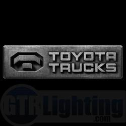 GTR Lighting LED Logo Projectors, Toyota Trucks Logo, #51