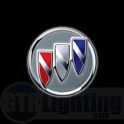 gtr lighting led logo projectors buick logo 46