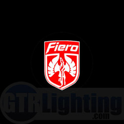 GTR Lighting LED Logo Projectors, Pontiac Fiero Logo, #2