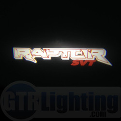 GTR Lighting LED Logo Projectors, Ford Raptor Logo, #47