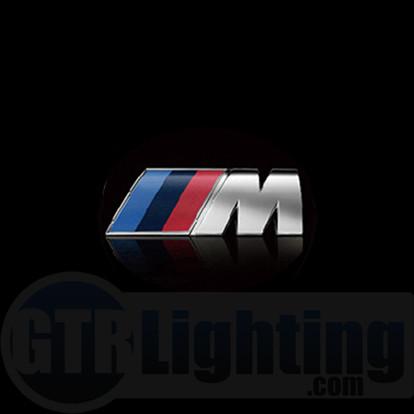 gtr lighting led logo projectors bmw m power logo 40. Black Bedroom Furniture Sets. Home Design Ideas