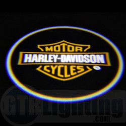 GTR Lighting LED Logo Projectors, Harley Davidson Logo, #9