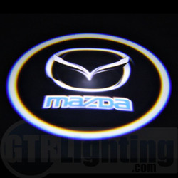 GTR Lighting LED Logo Projectors, Mazda Logo, #12