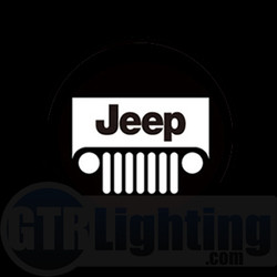 GTR Lighting LED Logo Projectors, Jeep Logo, #19