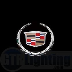 GTR Lighting LED Logo Projectors, Cadillac Logo, #20