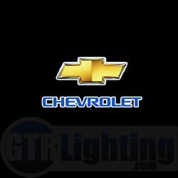 GTR Lighting LED Logo Projectors, Chevrolet Logo, #22
