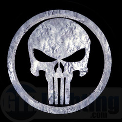 GTR Lighting LED Logo Projectors, Punisher Logo, #59
