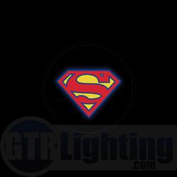 GTR Lighting LED Logo Projectors, Superman Logo, #32