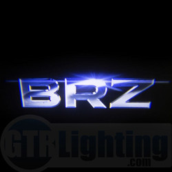 GTR Lighting LED Logo Projectors, Subaru BRZ Logo, #64