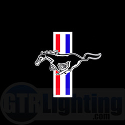 GTR Lighting LED Logo Projectors, Ford Mustang Logo, #34