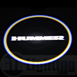 GTR Lighting LED Logo Projectors, Hummer Logo, #37