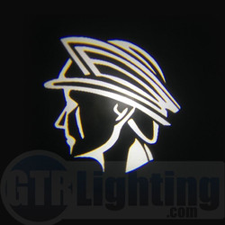 GTR Lighting LED Logo Projectors, Mercury Marauder God Head Logo, #66
