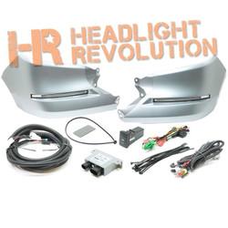 Rostra 2014-17 Toyota Tundra LED Daytime Running Lights DRL Magnetic Gray Metallic Bezels