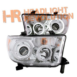 Anzo Toyota Tundra 07-13 and Sequoia 08-16 Projector Headlights with Halo