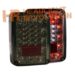 Anzo Jeep Wrangler JK 07-16 LED Tail Lights - Smoke Lens