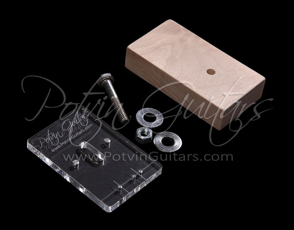 Mini Fretboard Side Dot Drilling Template Jig