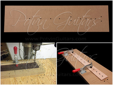 Face Dot Drilling Jig - Bass