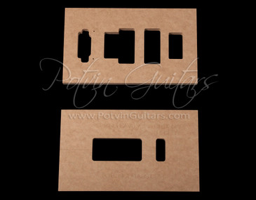 Guitar building templates jigs and luthier tools by for Floyd rose routing template