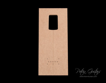 S-Style Neck Pocket Template