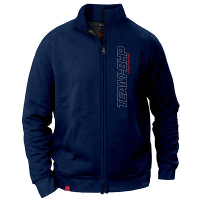 Personalized Team-BHP Jacket (Navy Blue)