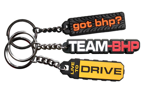 Team-BHP Mixed Keychain Set