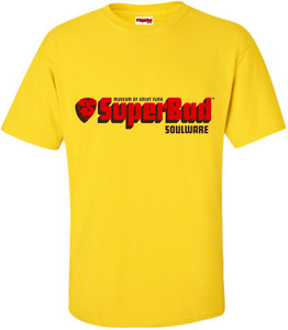 SuperBad Soulware Men's T-Shirt - Yellow