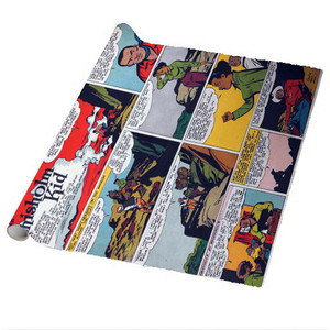 Vintage Black Heroes Wrapping Paper Sheets - The Chisholm Kid - CST5 - Package Of 5