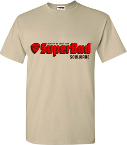 SuperBad Soulware Men's T-Shirt - Sand