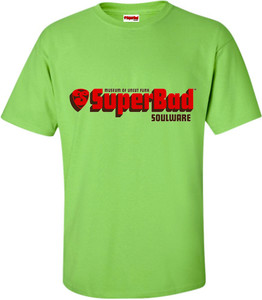 SuperBad Soulware Men's T-Shirt - Lime Green