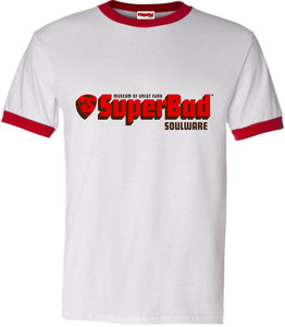 SuperBad Soulware Men's T-Shirt - Red Ringer