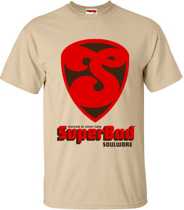 SuperBad Soulware Men's T-Shirt - S1 - Tan