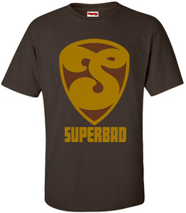 SuperBad Soulware Men's T-Shirt - S2 - Brown - GDBR