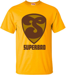 SuperBad Soulware Men's T-Shirt - S2 - Gold - BRGD