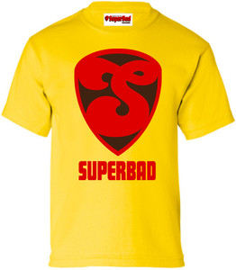 SuperBad Soulware Boys T-Shirt - S2 - Yellow