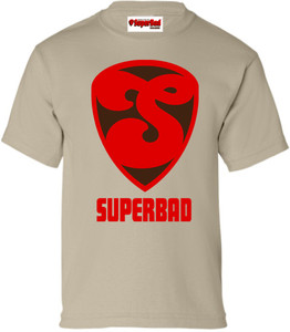 SuperBad Soulware Boys T-Shirt - S2 - Sand