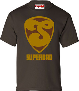 SuperBad Soulware Boys T-Shirt - S2 - Brown - GDBR